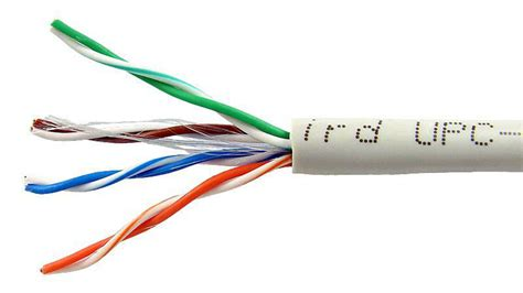 Mmp Cable Utp Cat 5e bobina de cable utp solido cat 5e awg 24 cca 305 m en