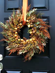 Autumn Wreaths Front Door 301 Moved Permanently