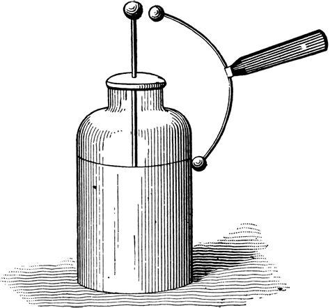 what is a leyden jar capacitor leyden jar clipart etc