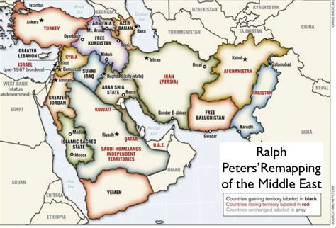middle east map new york times ralph peters geocurrents