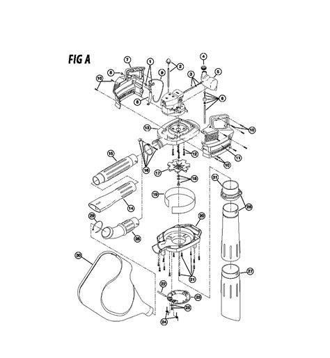 ryobi blower parts diagram buy ryobi 310bvr 41cs310g034 replacement tool parts