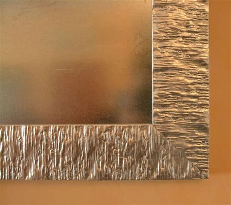 cornici di design specchiera con cornice di design in legno laccato argento