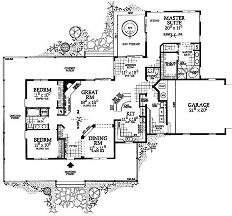 House Plans For Corner Lots by Plan W81331w Corner Lot Farmhouse Country House Plans