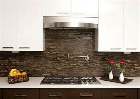 Brown Kitchen Backsplash Kitchen Backsplash Tile Captainwalt