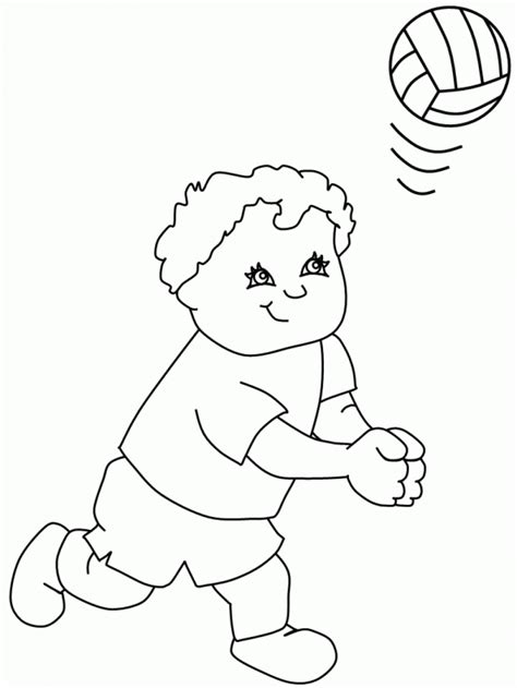 free printable volleyball coloring pages free printable volleyball coloring pages for kids