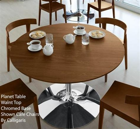 calligaris planet table white planet dining table
