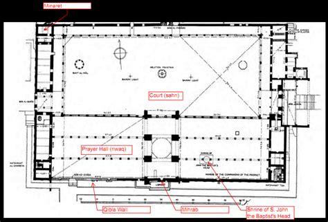 Siria Gotik damascus mosque 705 15 hypostyle plans to