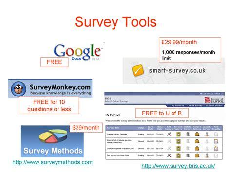 Internet Survey Tools - online surveys growing schools university wiki