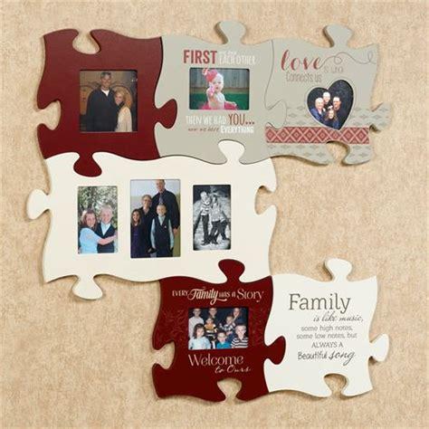 family wall photo frames every family photo frame puzzle wall