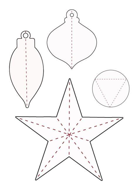 studio 5 diy 3d paper ornaments for 3d christmas