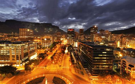 City Light Capital by Cape Town 3d City Light Wallpapers New Hd Wallpapers