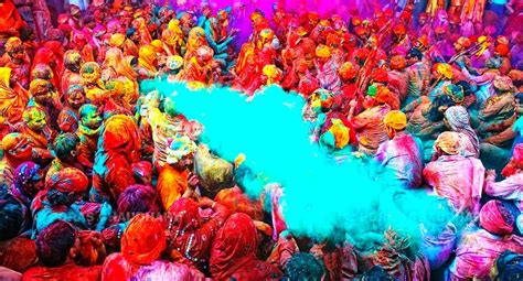 the festival of colors india