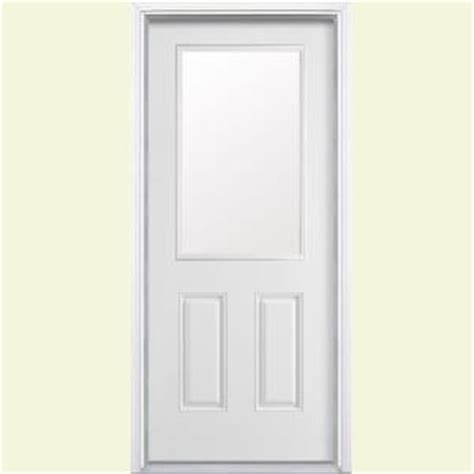 Half Door Home Depot by Masonite 36 In X 80 In Half Lite Primed Smooth