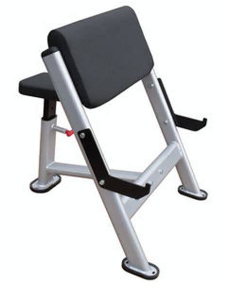 seated preacher curl bench gym equip seated preacher curl