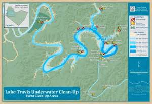 lake travis underwater cleanup acs map portfolio