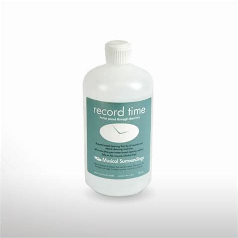 Enzyme Cleaner For Vinyl Records - musical surroundings record time enzyme cleaning solution
