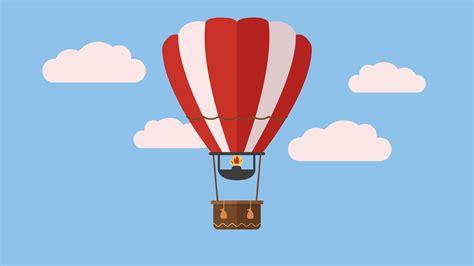 illustrator tutorial hot air balloon hot air balloon raav flat design 2 youtube