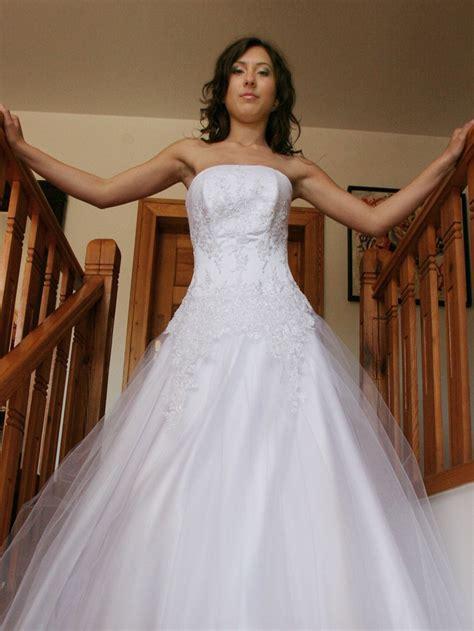 hochzeitskleid corsage glitzer brautkleid schulterfrei glitzer dein neuer kleiderfotoblog