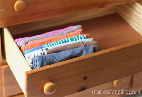 How To Organize T Shirts In A Drawer by How To Organize Your T Shirts