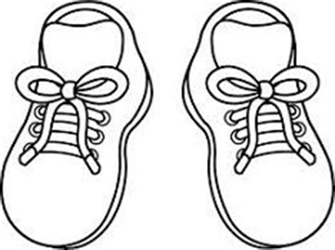coloring pages of baby shoes imagenes para dibujar faciles