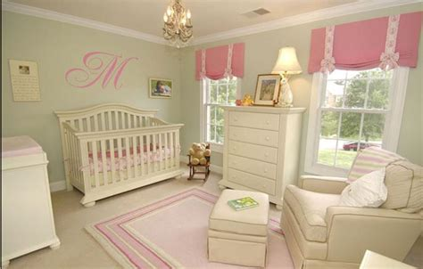 Pink And Green Baby Room | pink and green nursery kids dallas by maddie g