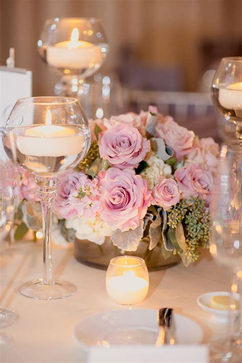 wedding centerpieces ideas not using flowers fabulous floating candle ideas for weddings mon cheri bridals