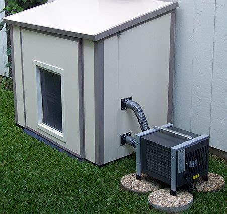 dog house with air conditioner dog house air condiitoner