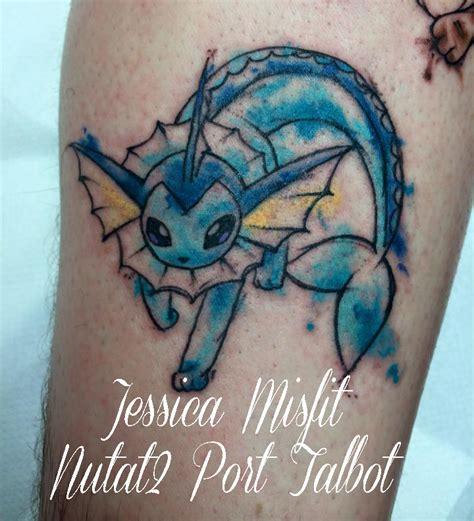 vaporeon tattoo vaporeon water colour by jessicamisfit on deviantart