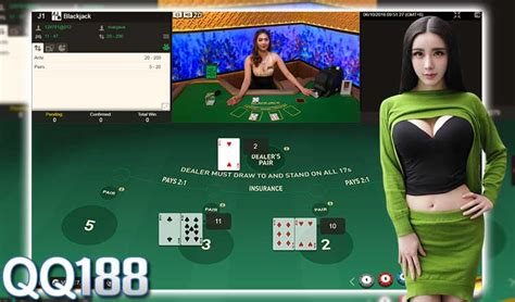 Play Live Blackjack Games for Real Money at QQ288 Casino