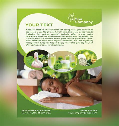17 Spa Flyer Psd Templates Free Premium Designyep Salon Flyer Templates Free