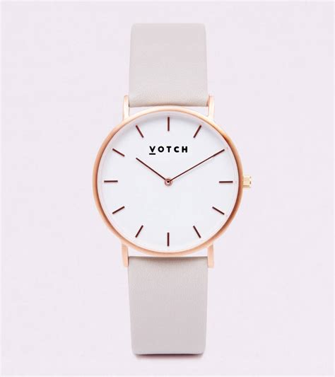 Ac 8490 Rosegold Pink Leather 1 classic gold vegan leather by votch notonthehighstreet
