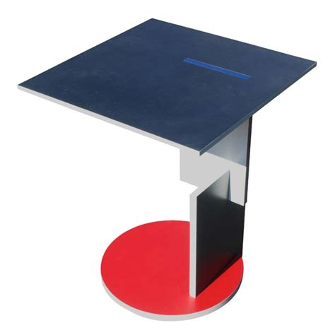 gerrit rietveld schroeder house side table at 1stdibs