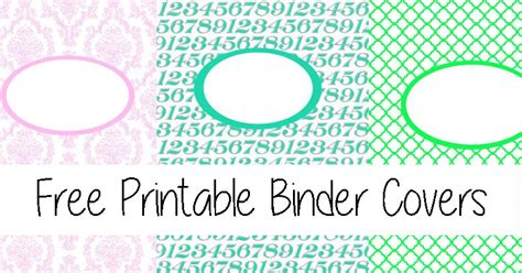 math binder cover templates free printable binder covers the gracious