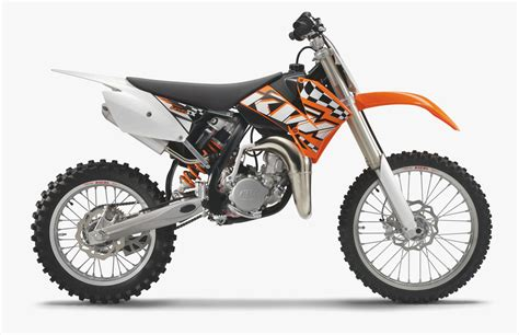 2008 KTM 105 SX motorcycle review @ Top Speed