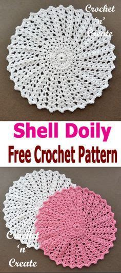 pattern matching c shell easy and quick to stitch doilies pattern set includes 3