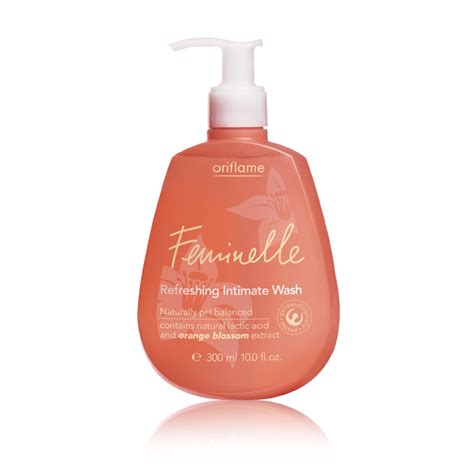 Feminelle Mild Intimate Wash oriflame india cosmetics feminelle refreshing intimate wash