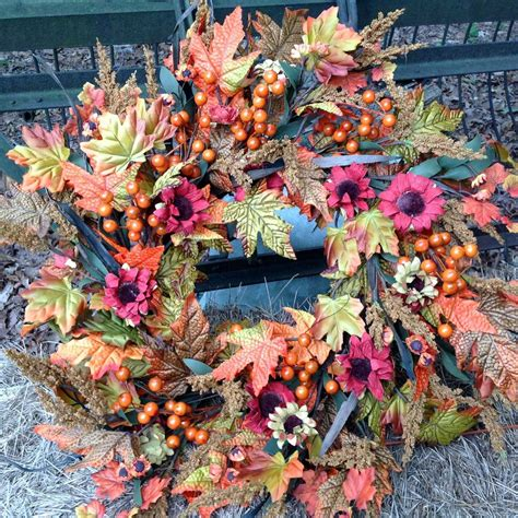 top 28 decorate wreaths fall fall harvest wreath 28 quot flora decor