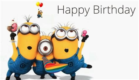 imagenes de los minions happy birthday happy birthday wishes with minions page 4