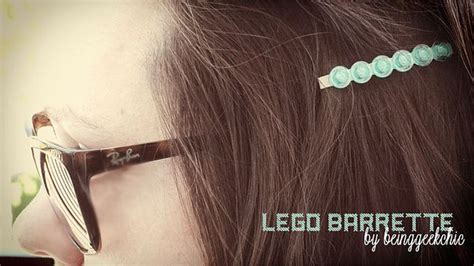 lego hair tutorial lego barrette love there s a video tutorial at the site