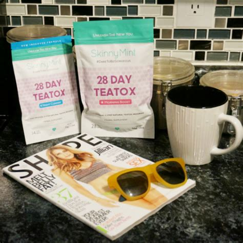 Tea Detox Review Skinnymint by My Experience With Skinnymint 28 Day Teatox Thefabzilla