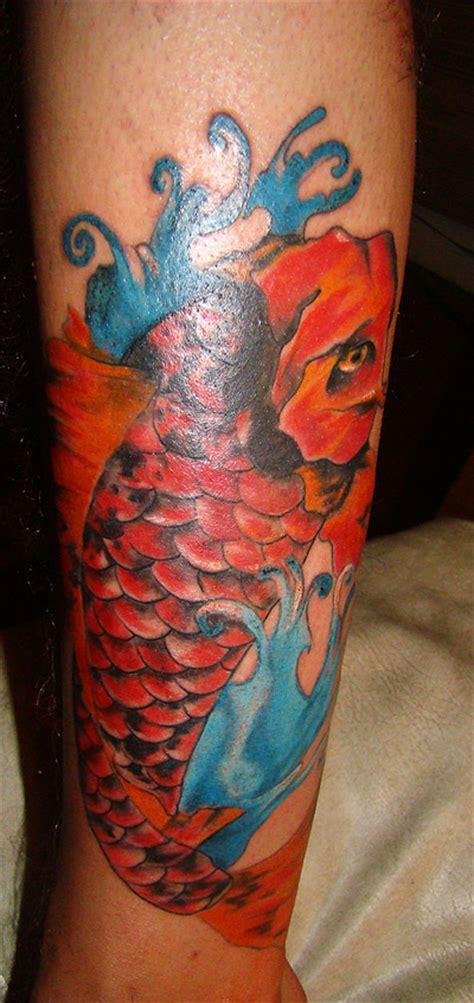 tattoo peces koi tattoo pez koi por ross dibujando