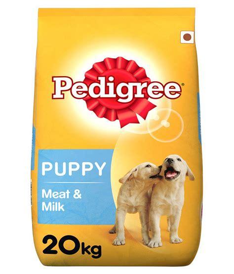 Produk Brand Canine Selection 20kg pedigree puppy food milk 20 kg pack buy pedigree puppy food milk