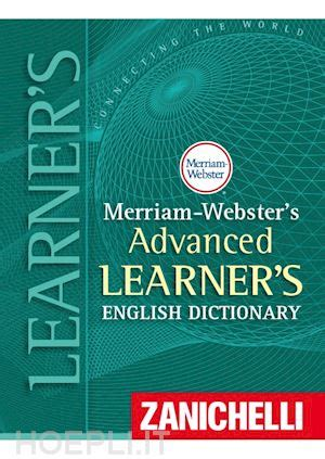 libreria webster merriam webster s advanced learner s dictionary