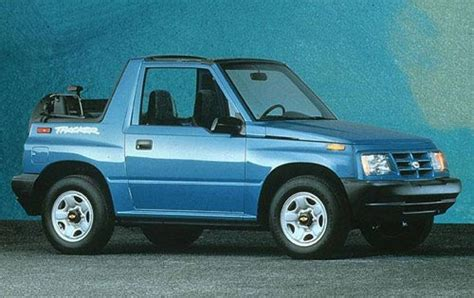 1998 chevrolet tracker information and photos zombiedrive