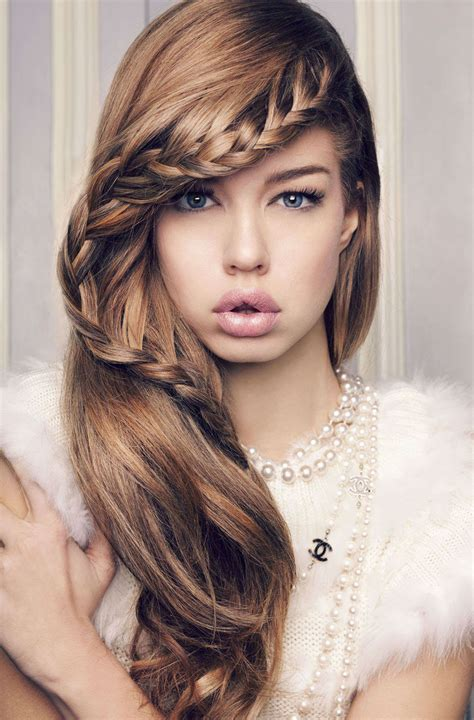 Wedding Hairstyles With Side Braids by Wedding Hairstyle To The Side With Braids Elite Wedding