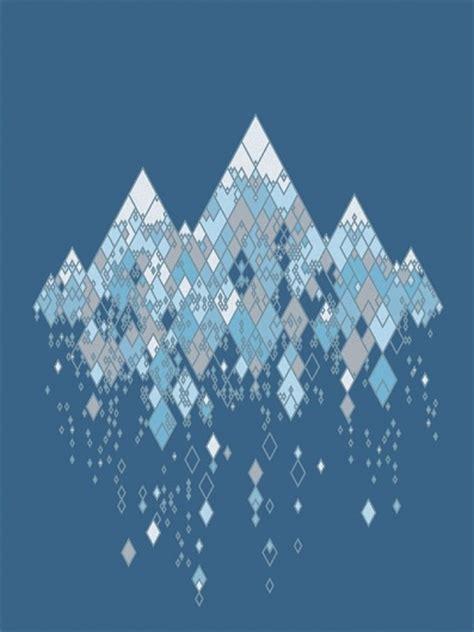 designspiration blue geometry niiiiice pinterest