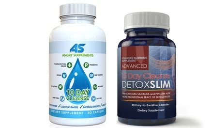 10 Day Detox Combo Pack by 10 Day Cleanse And 15 Day Cleanse Dietary Supplements 2
