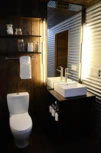 metal bathroom wall corrugated metal wall bathroom house