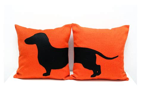 Sausage Pillow by Sausage Cushion Covers Personalized Pillows Tangerine