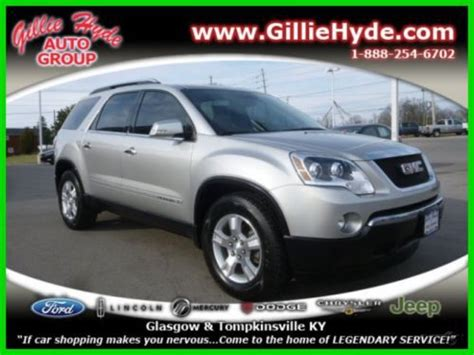 suv with 3rd row seating and dvd player purchase used used 2008 slt all wheel drive 3rd row seat